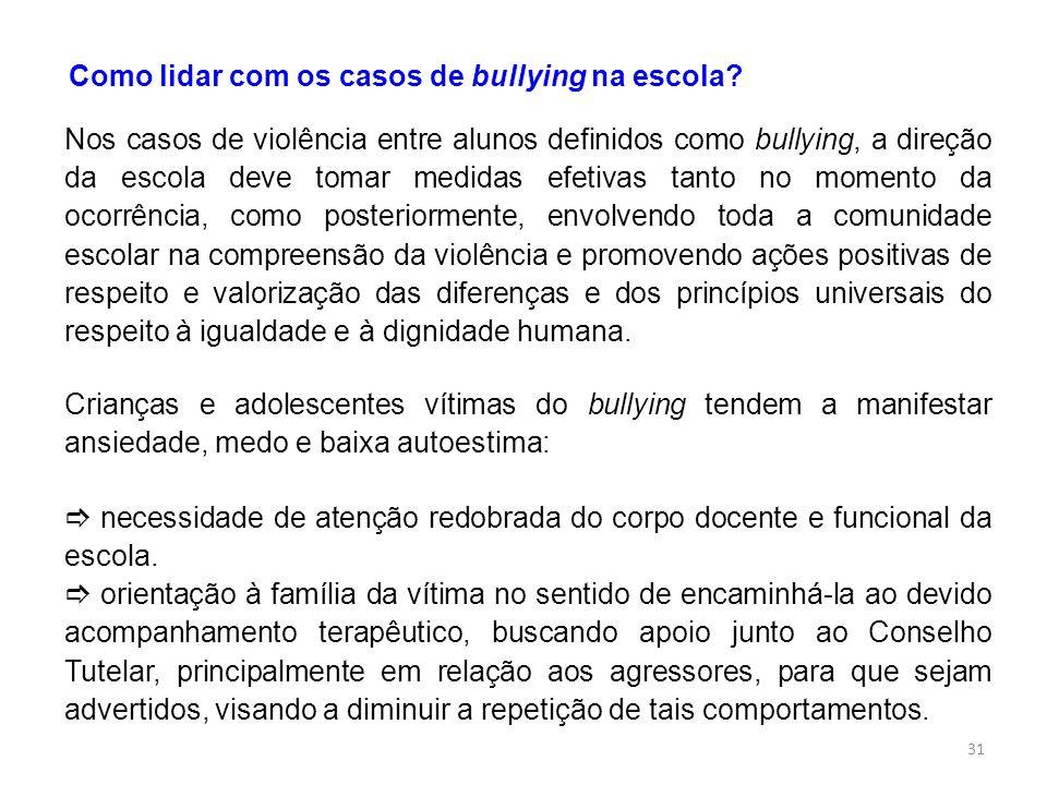 Como lidar com os casos de bullying na escola