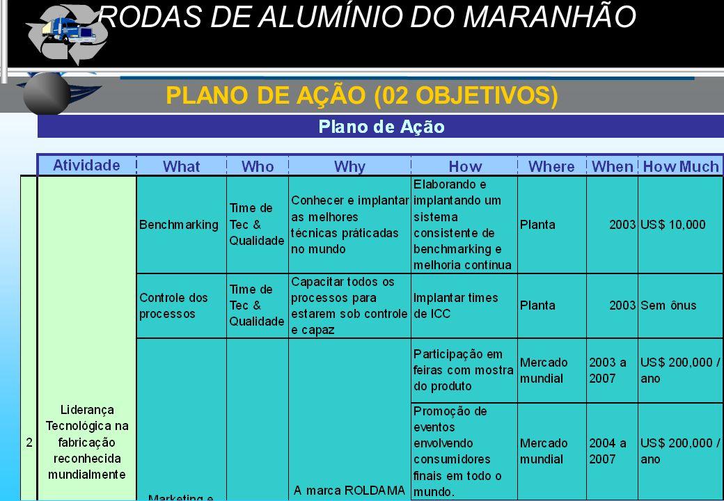 PLANO DE AÇÃO (02 OBJETIVOS)