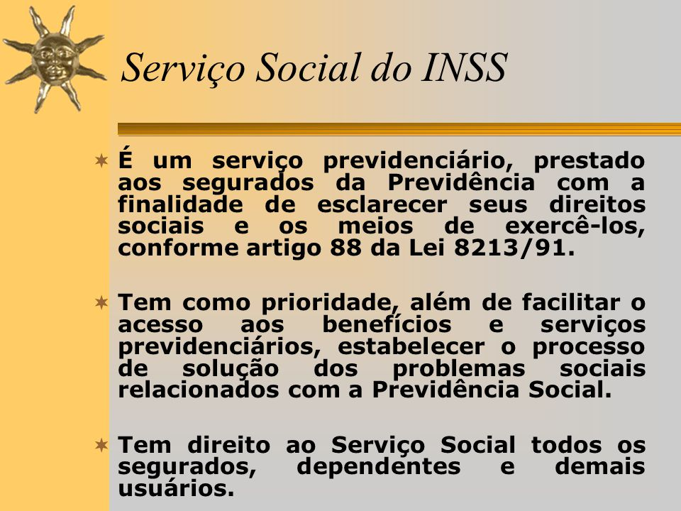 Serviço Social do INSS