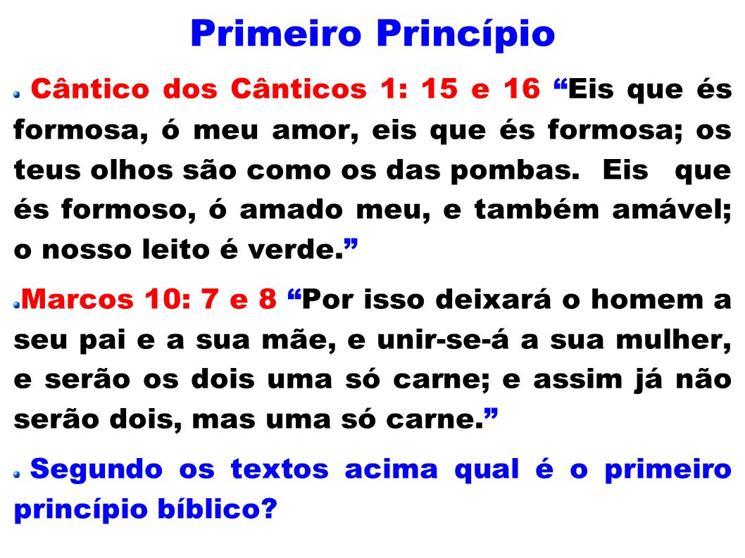 Primeiro Princípio