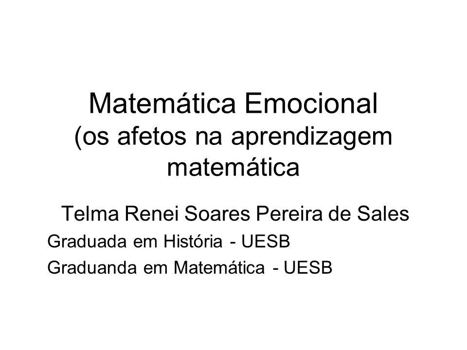 Matemática Emocional (os afetos na aprendizagem matemática