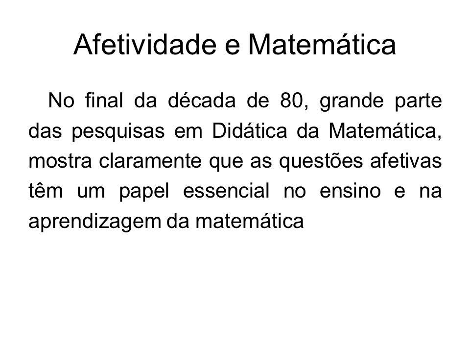Afetividade e Matemática