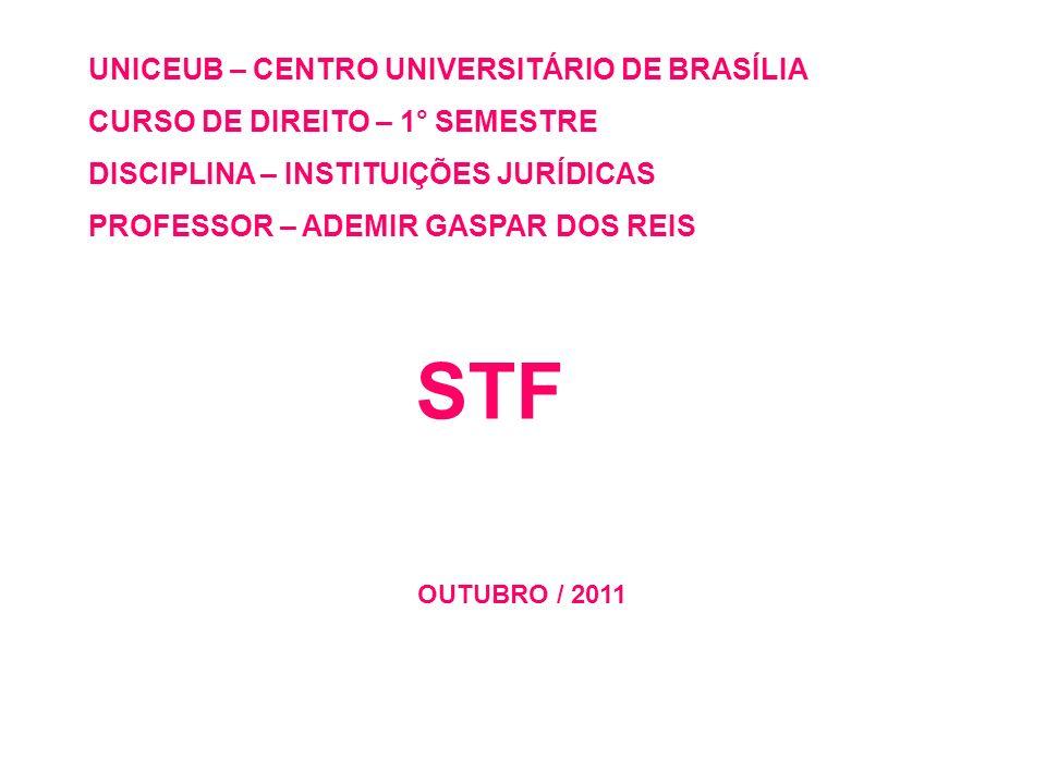 STF UNICEUB – CENTRO UNIVERSITÁRIO DE BRASÍLIA