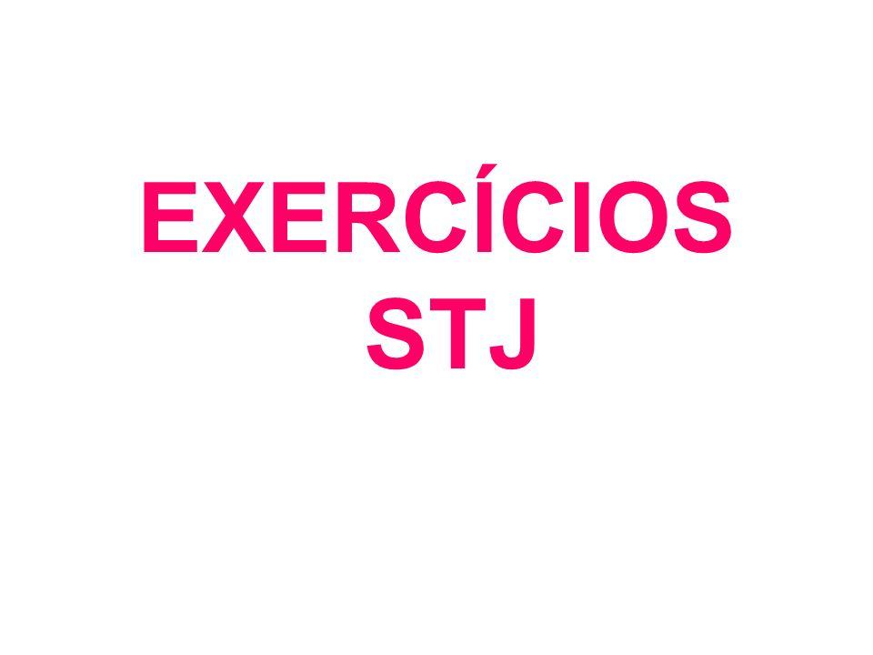 EXERCÍCIOS STJ