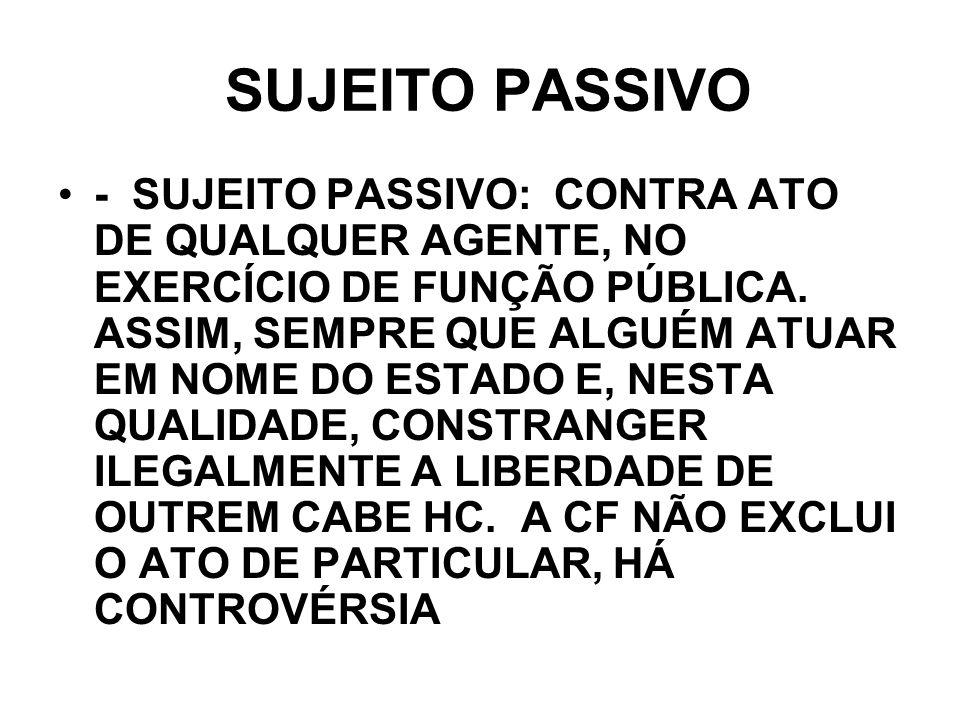 SUJEITO PASSIVO