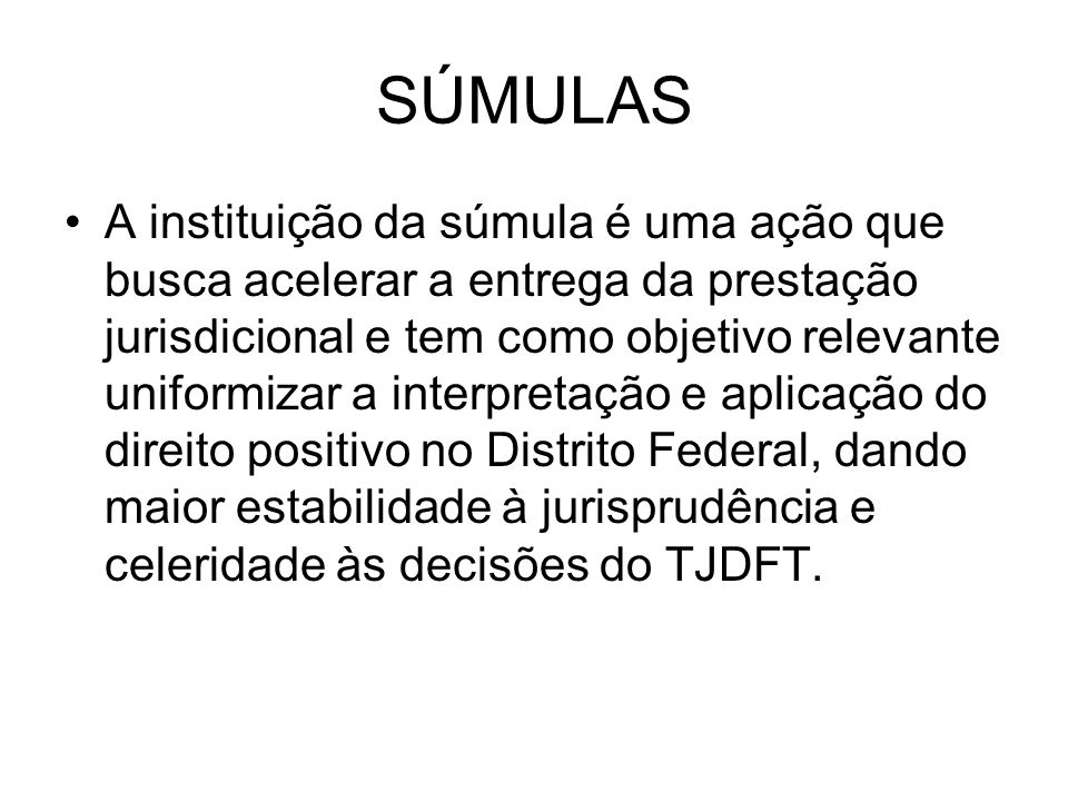 SÚMULAS