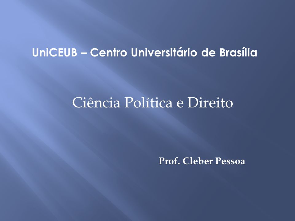 UniCEUB – Centro Universitário de Brasília