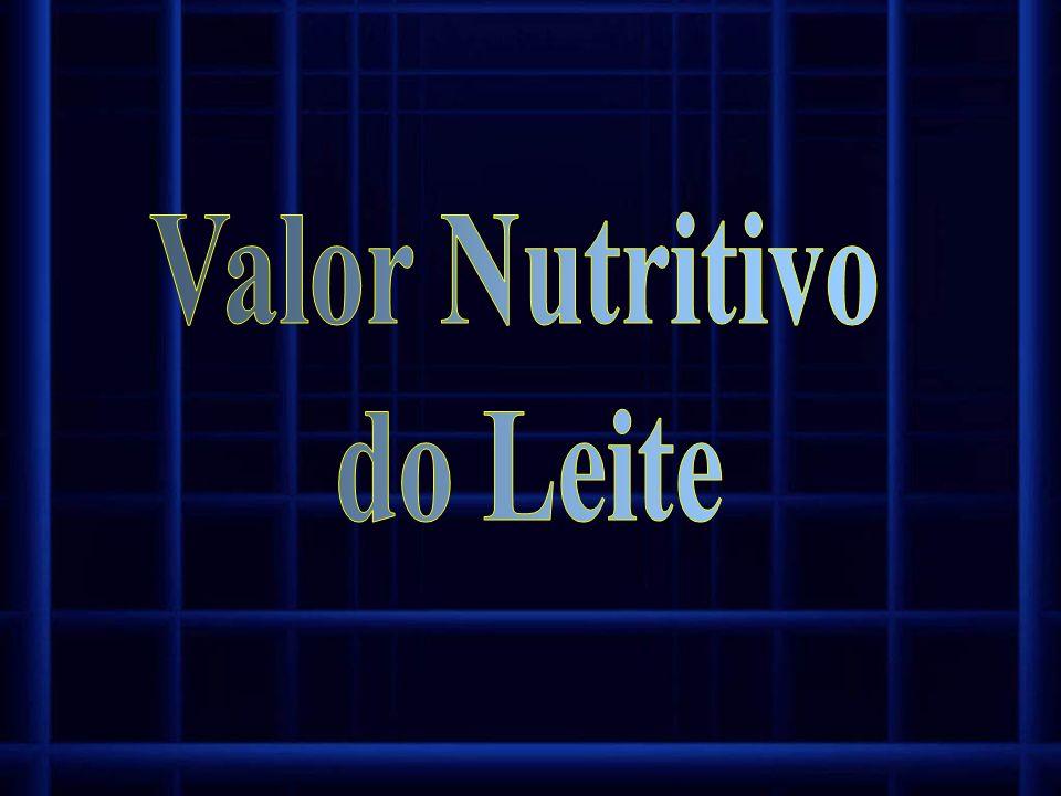 Valor Nutritivo do Leite