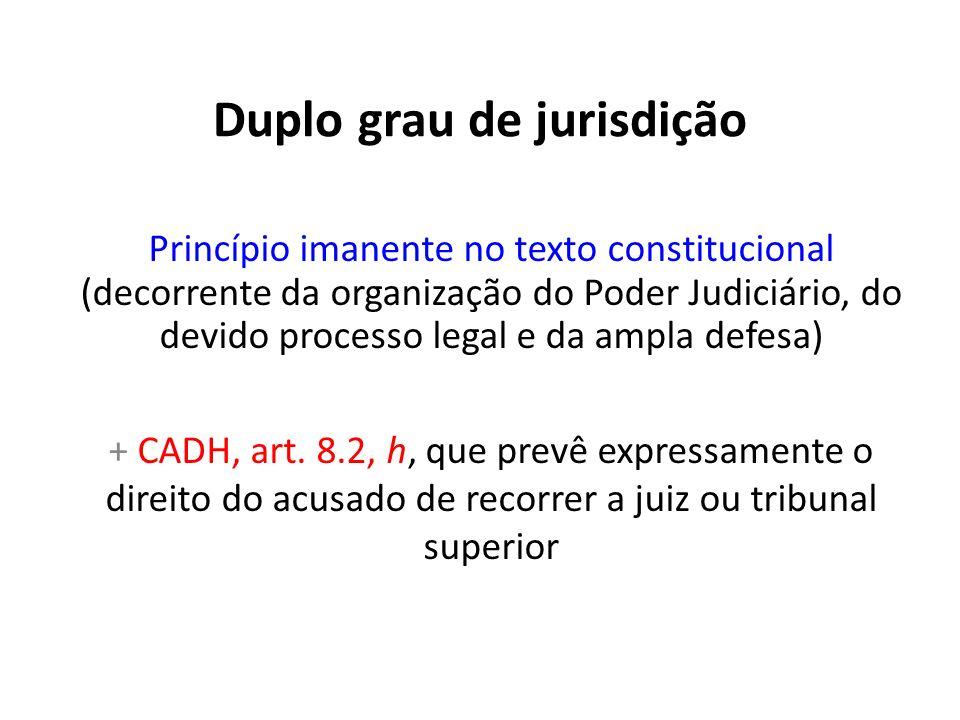 Duplo grau de jurisdição