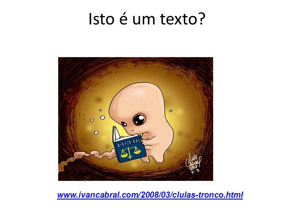Isto é um texto www.ivancabral.com/2008/03/clulas-tronco.html