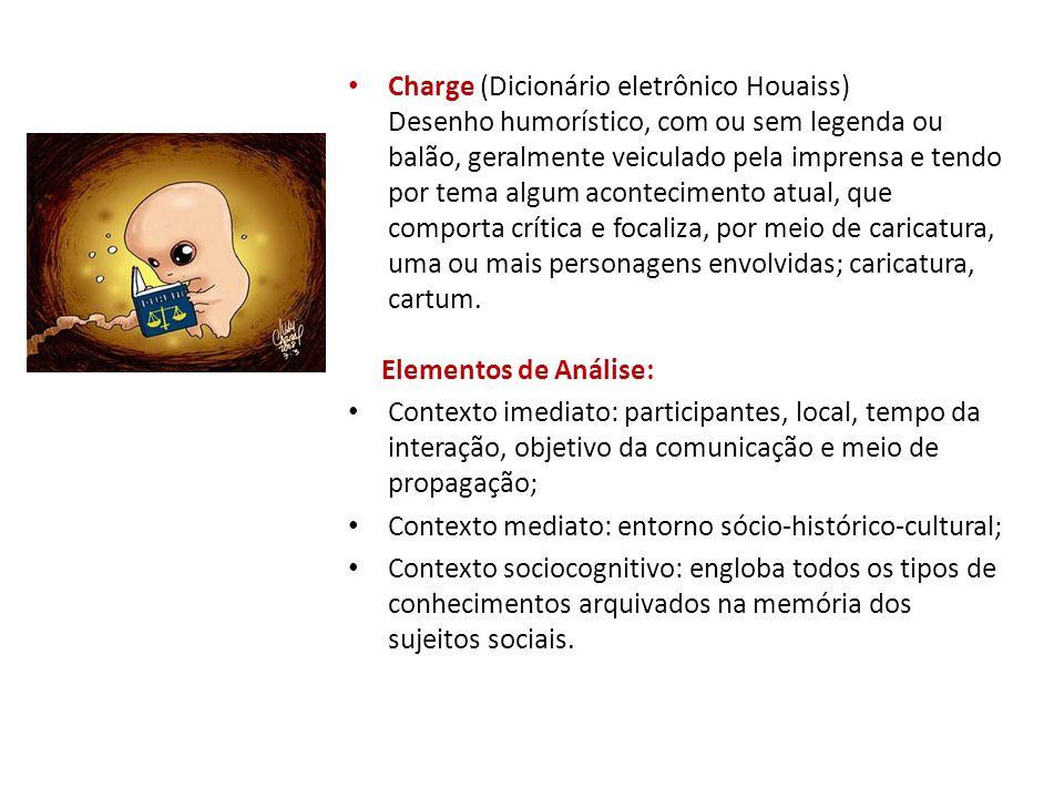 Charge (Dicionário eletrônico Houaiss)