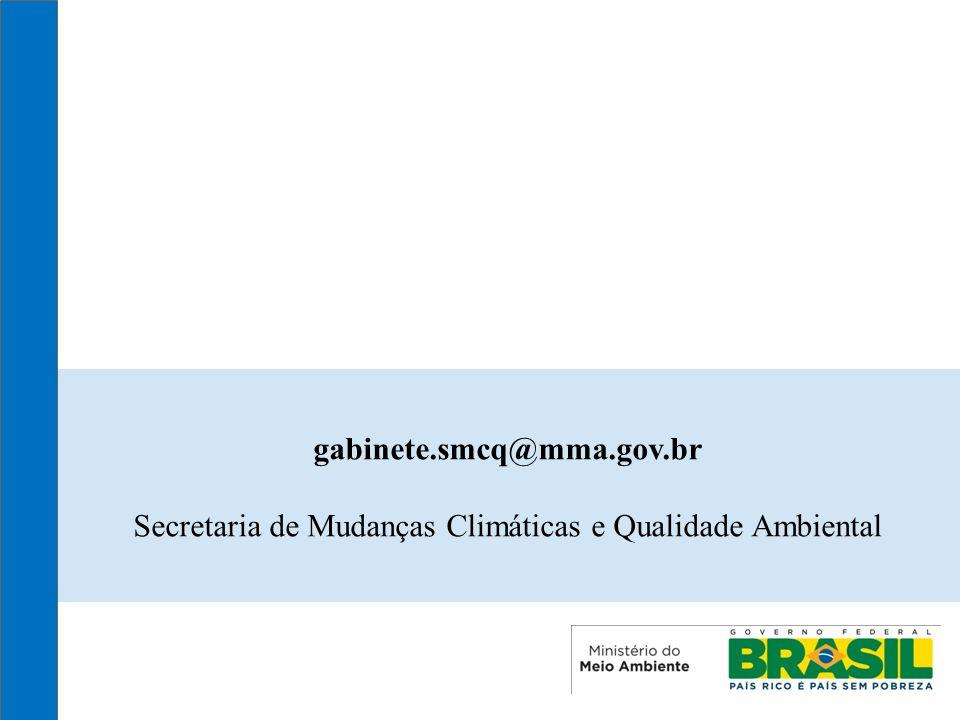Secretaria de Mudanças Climáticas e Qualidade Ambiental