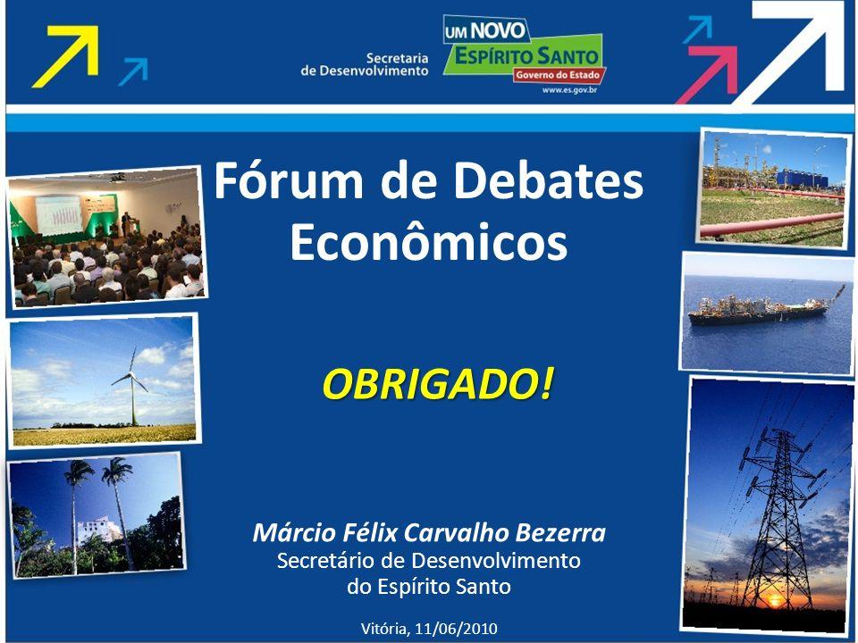 Fórum de Debates Econômicos Márcio Félix Carvalho Bezerra