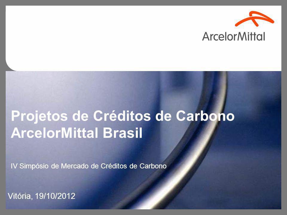 Projetos de Créditos de Carbono ArcelorMittal Brasil