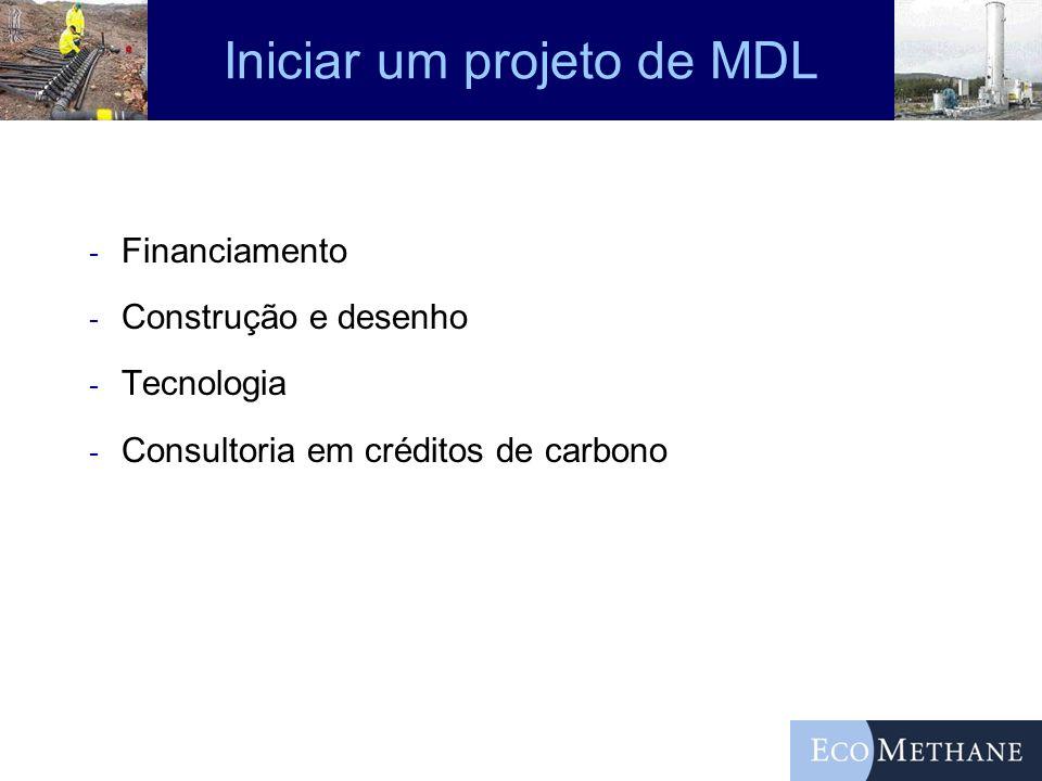 Iniciar um projeto de MDL