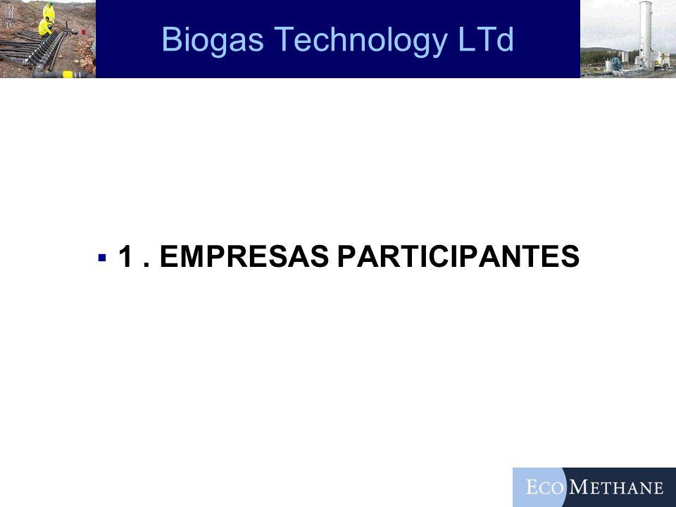 1 . EMPRESAS PARTICIPANTES
