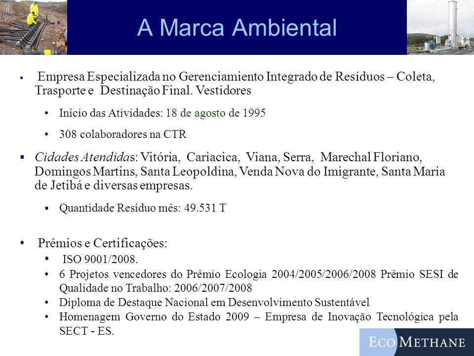 A Marca Ambiental Empresa Especializada no Gerenciamiento Integrado de Resíduos – Coleta, Trasporte e Destinação Final. Vestidores.