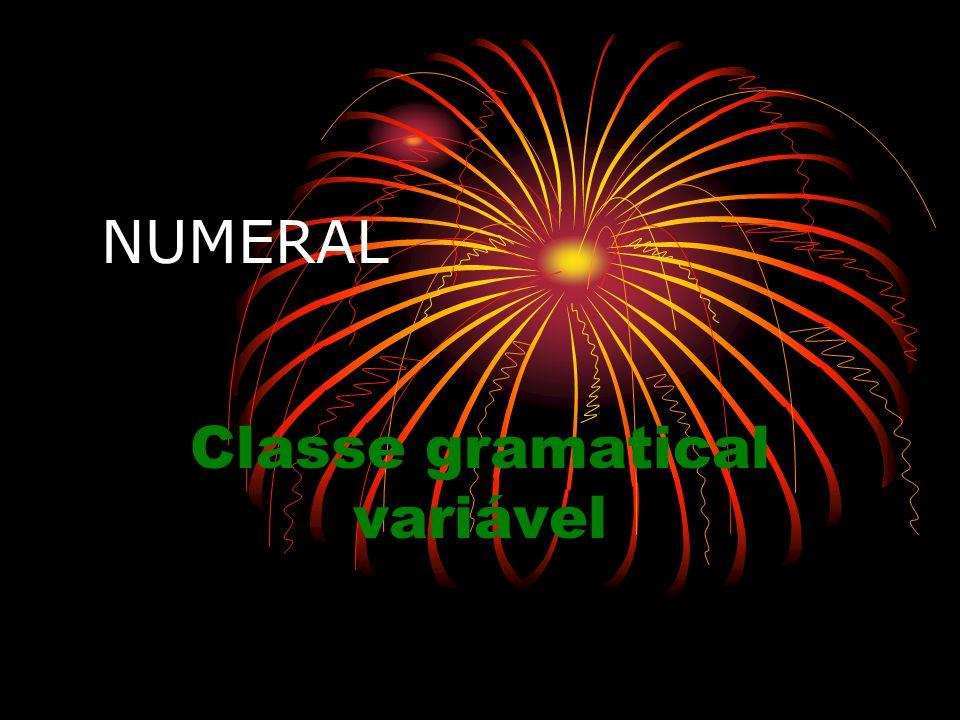 Classe gramatical variável
