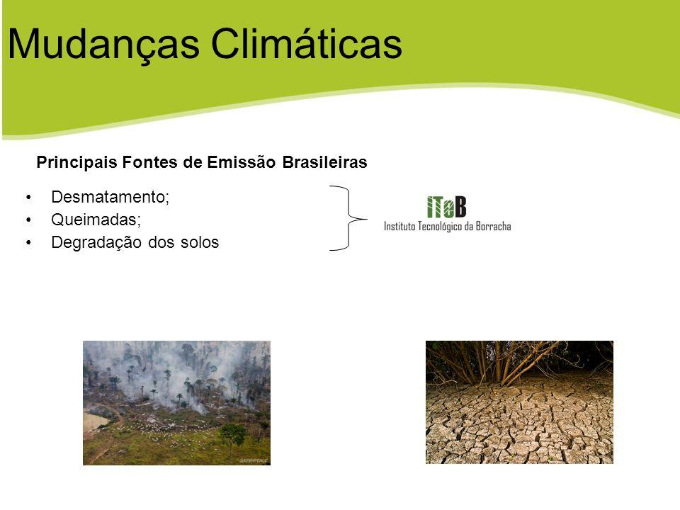 Mudanças Climáticas Principais Fontes de Emissão Brasileiras