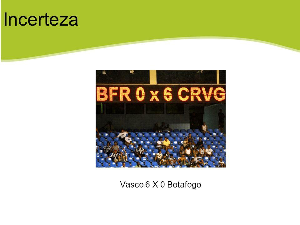 Incerteza Vasco 6 X 0 Botafogo