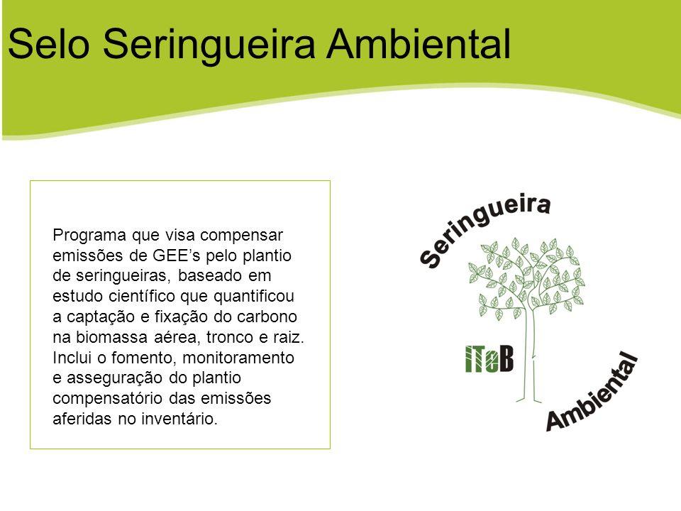 Selo Seringueira Ambiental