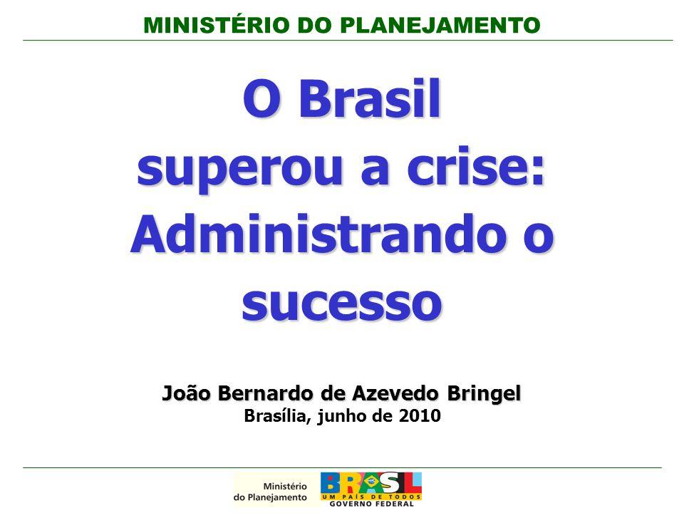 O Brasil superou a crise: Administrando o sucesso
