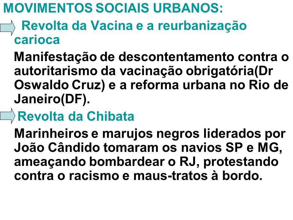 MOVIMENTOS SOCIAIS URBANOS: