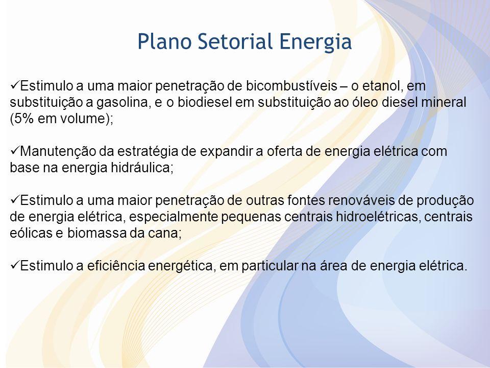 Plano Setorial Energia
