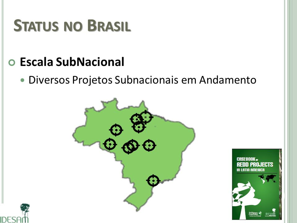 Status no Brasil Escala SubNacional