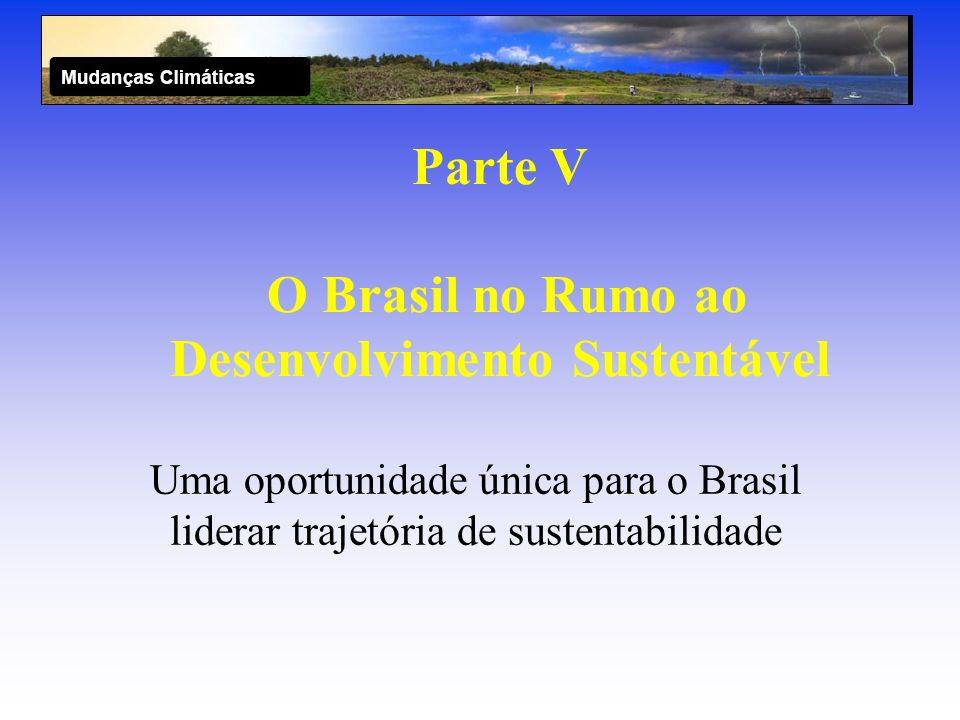 Parte V O Brasil no Rumo ao Desenvolvimento Sustentável