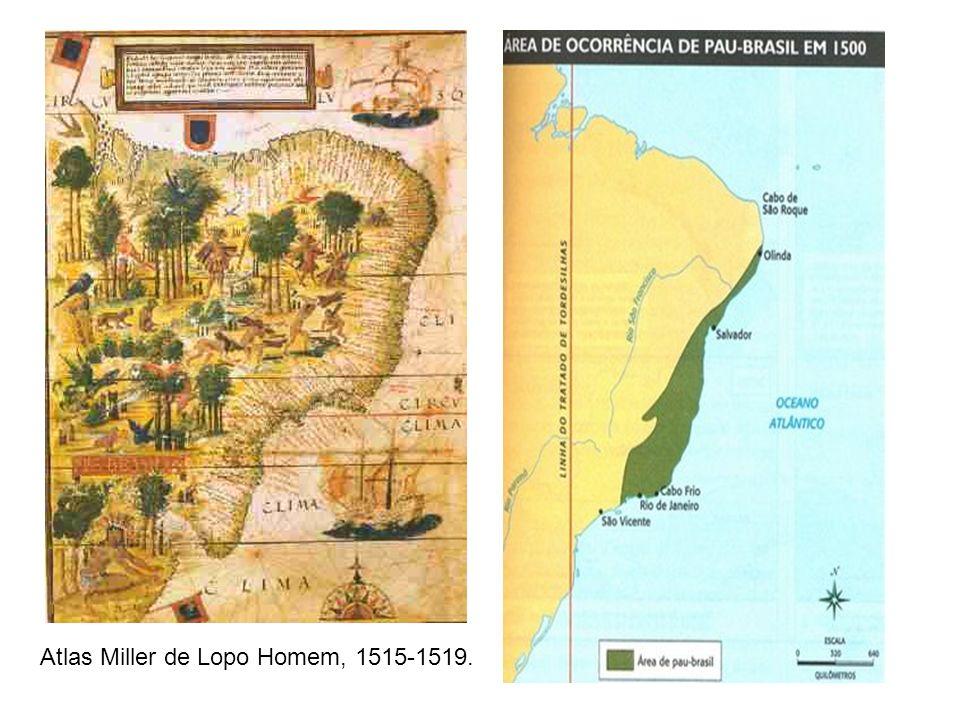 Atlas Miller de Lopo Homem, 1515-1519.