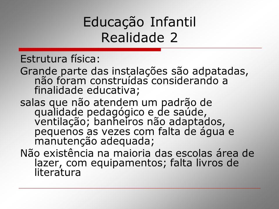 Educação Infantil Realidade 2