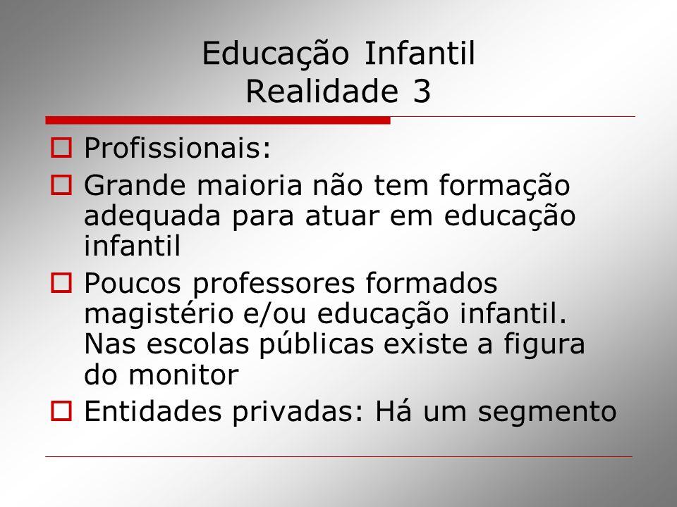 Educação Infantil Realidade 3