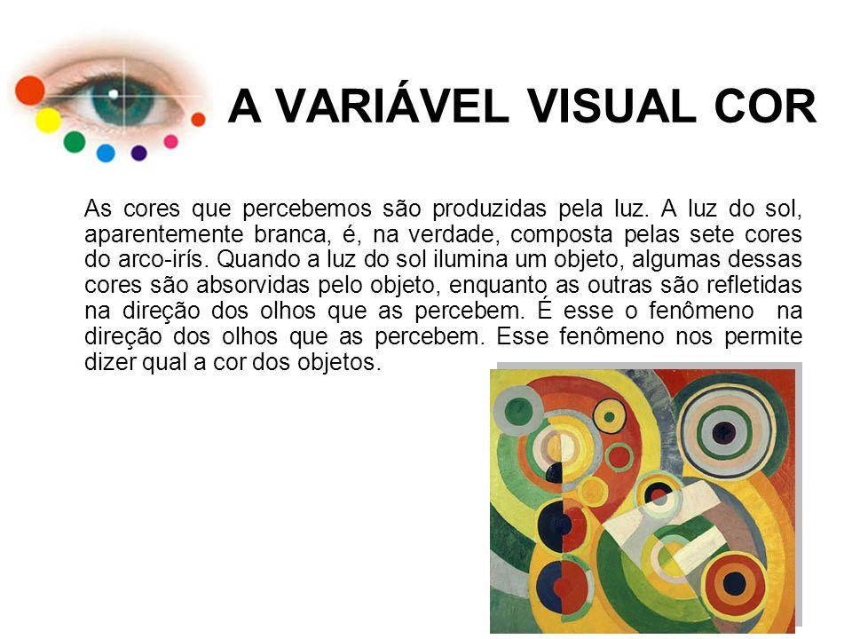 A VARIÁVEL VISUAL COR