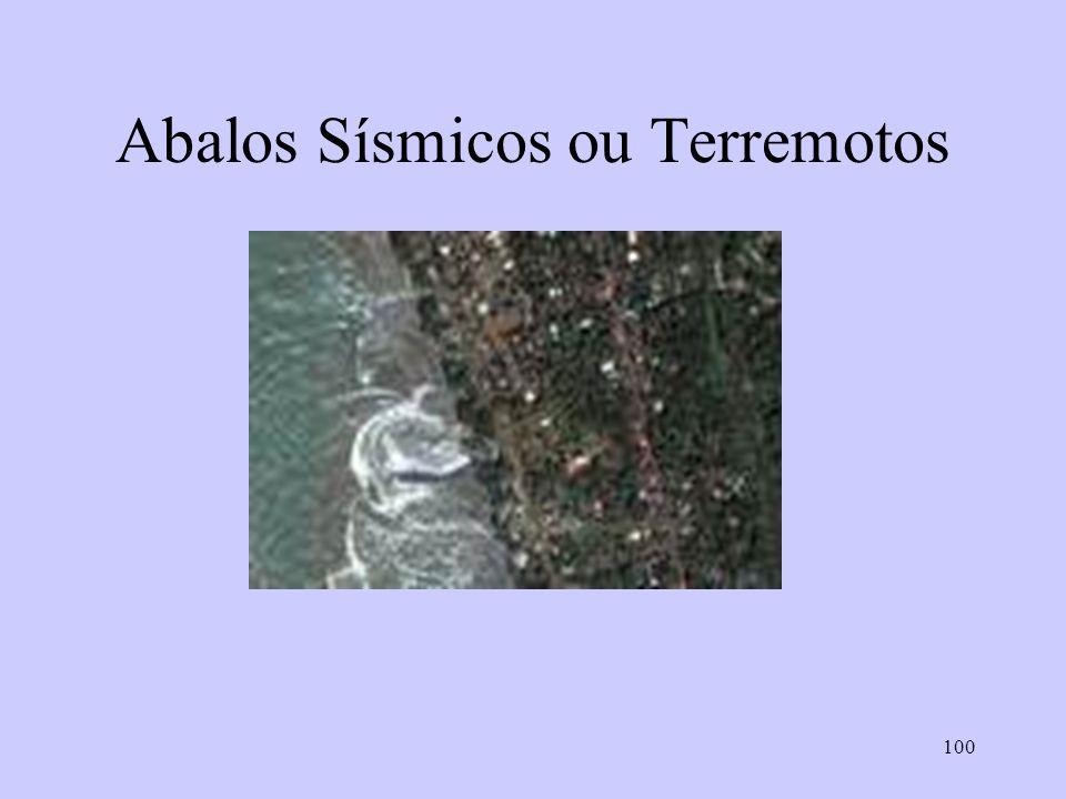 Abalos Sísmicos ou Terremotos