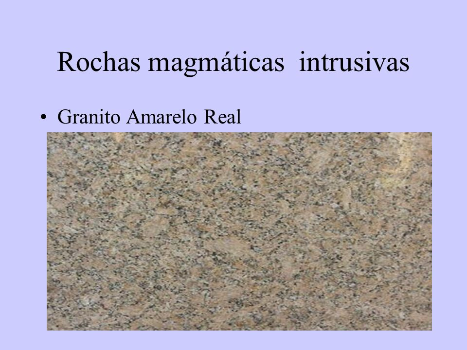 Rochas magmáticas intrusivas