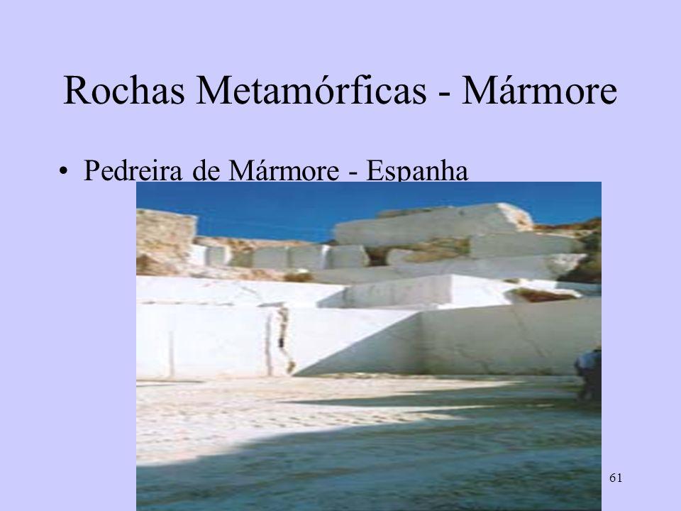 Rochas Metamórficas - Mármore