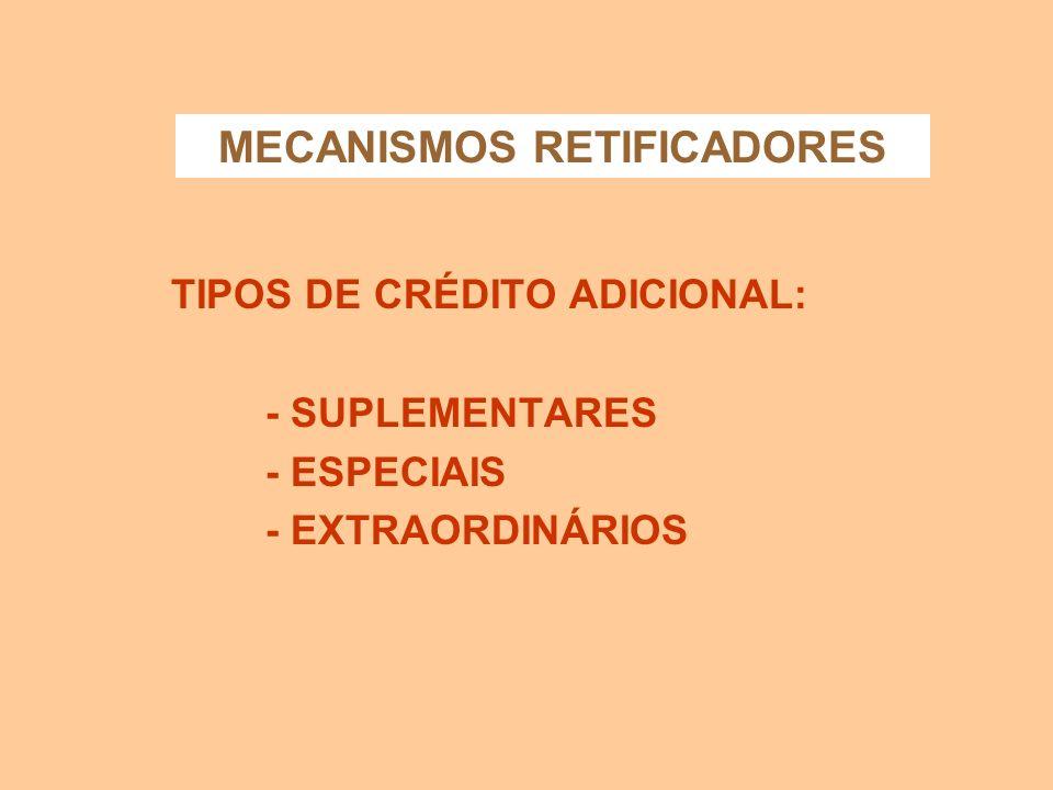 MECANISMOS RETIFICADORES