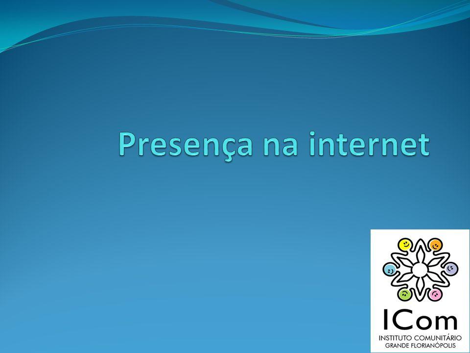 Presença na internet