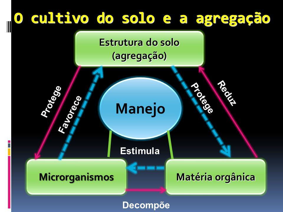 O cultivo do solo e a agregação