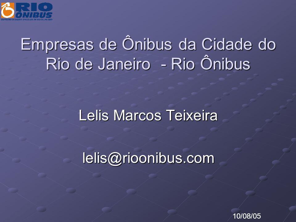 Empresas de Ônibus da Cidade do Rio de Janeiro - Rio Ônibus