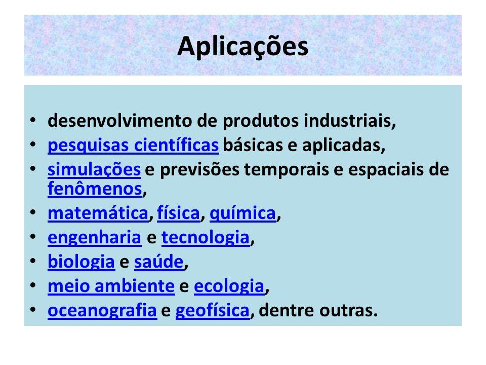 Aplicações desenvolvimento de produtos industriais,