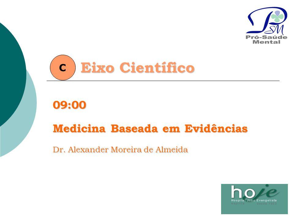 Eixo Científico 09:00 Medicina Baseada em Evidências C
