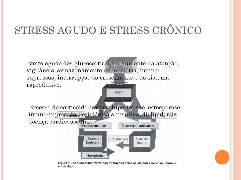 STRESS AGUDO E STRESS CRÔNICO