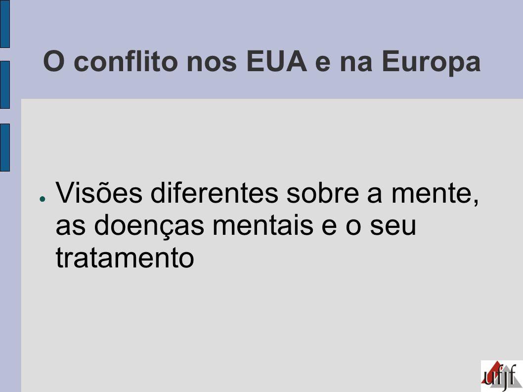 O conflito nos EUA e na Europa