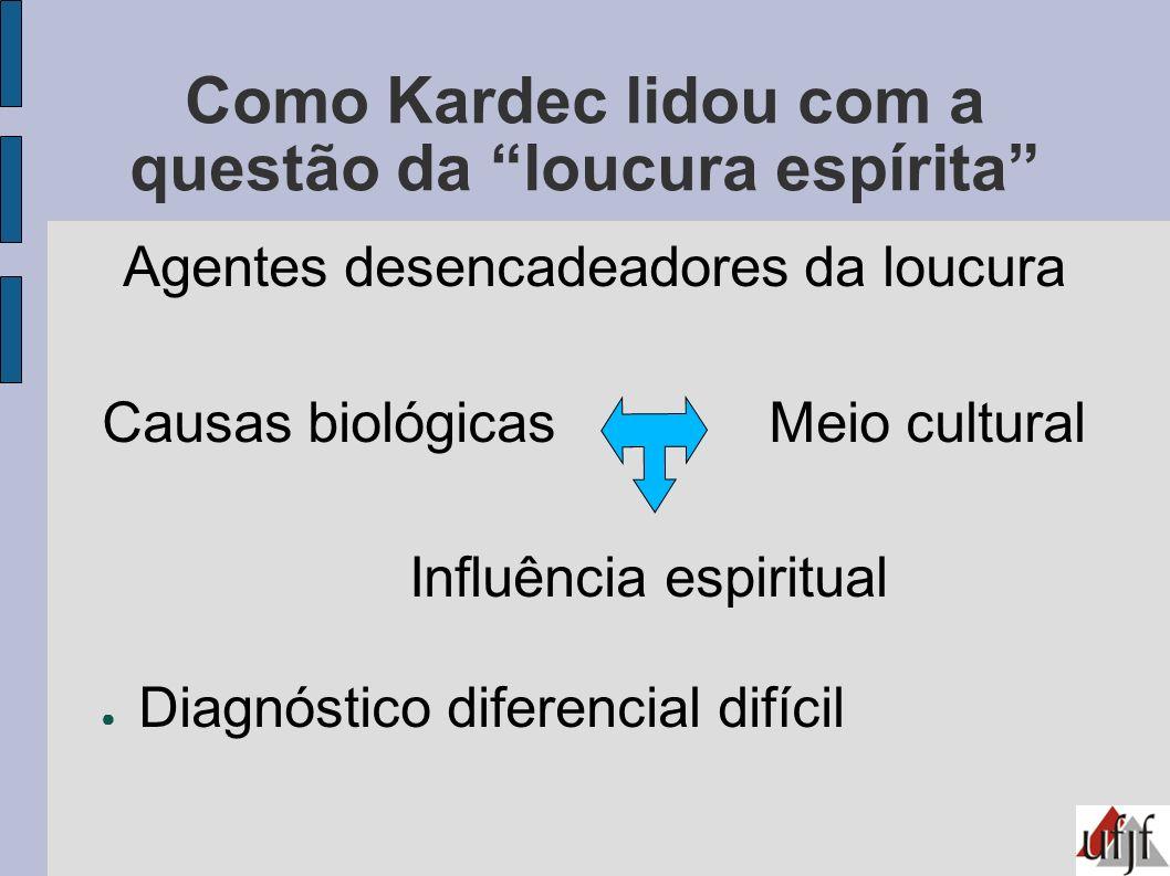 Como Kardec lidou com a questão da loucura espírita