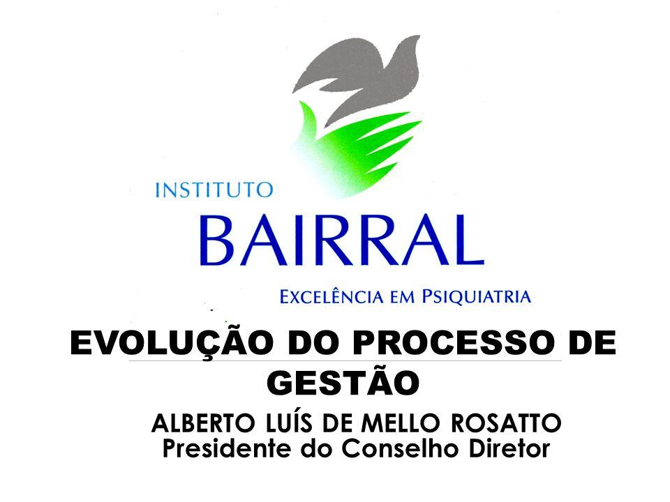 ALBERTO LUÍS DE MELLO ROSATTO Presidente do Conselho Diretor