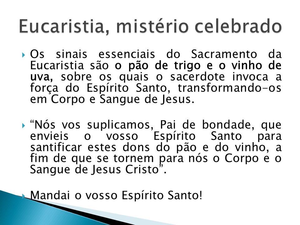 Eucaristia, mistério celebrado