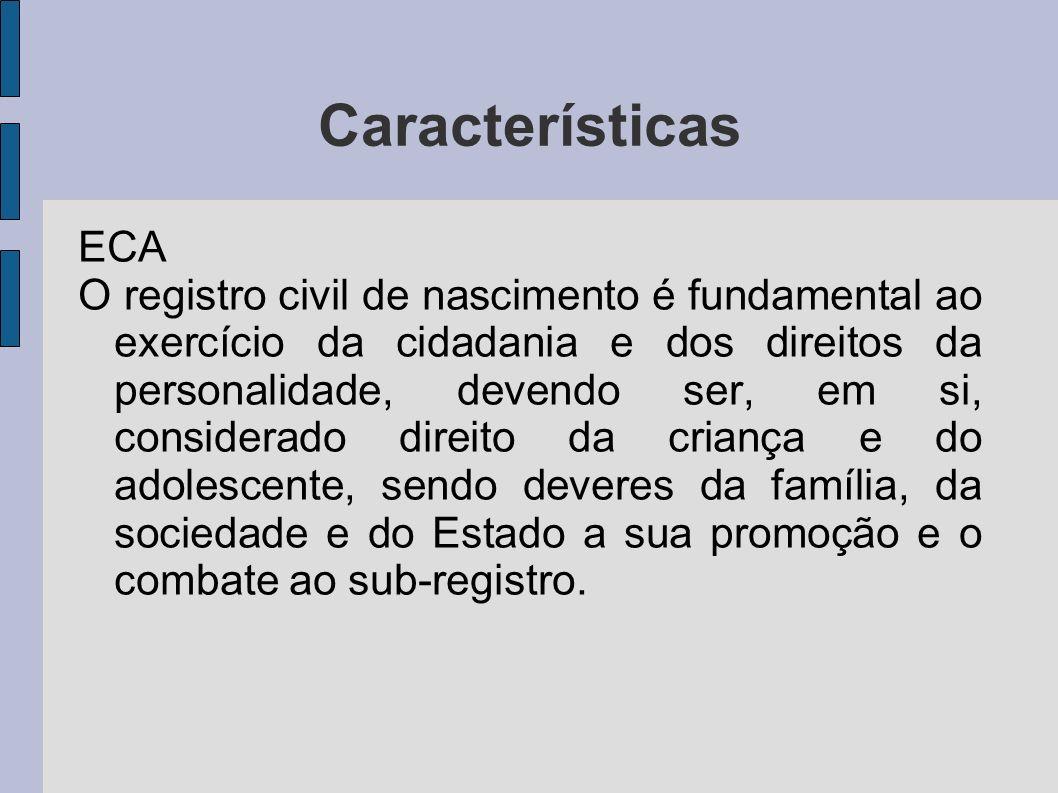 Características ECA.