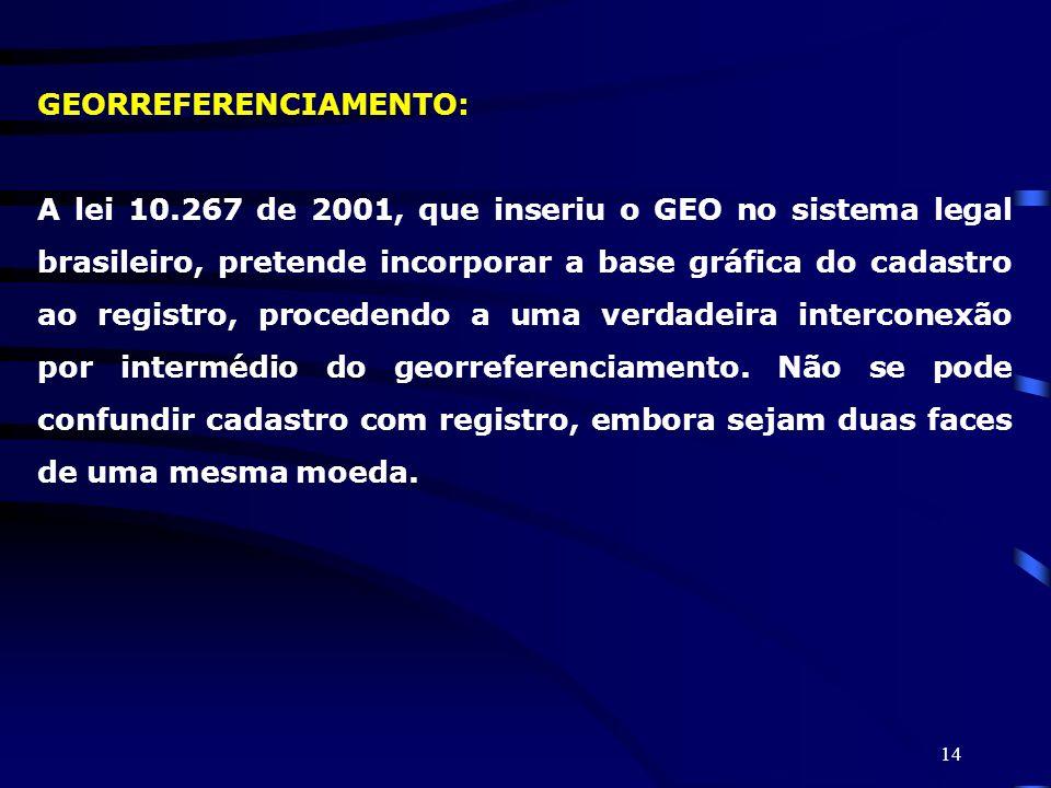 GEORREFERENCIAMENTO: